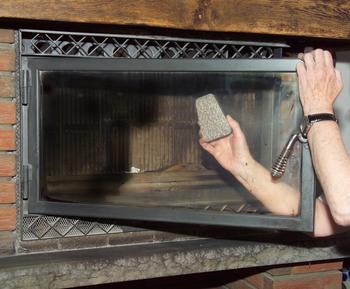Oscar Weil-RAKSO houba na čištění krbových skel - 2