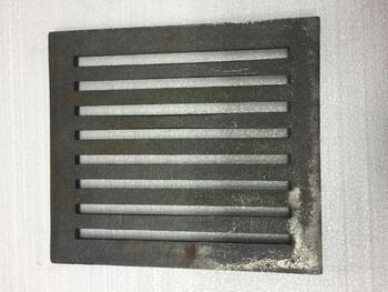 Litinový rošt 210 x 237 mm (8x9 palců) - 2