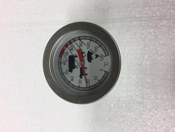 Teploměr do udírny, malý, 100 mm - 2