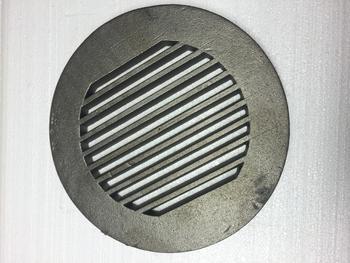 Litinový rošt kulatý masivní, pr. 330 mm - 2