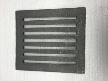 Litinový rošt 210 x 263 mm (8x10 palců) - 2
