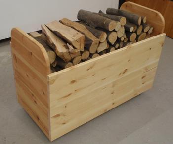 Zásobník na dřevo mobilní - 2