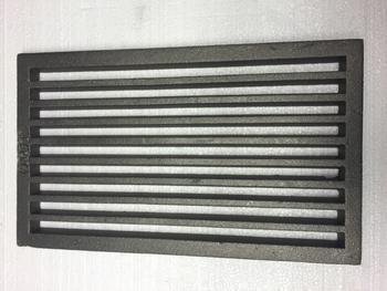 Litinový rošt 237 x 395 mm (9x15 palců) - 2