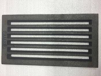 Litinový rošt 157 x 290 mm (6x11 palců) - 2