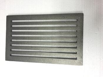 Litinový rošt 210 x 341 mm (8x13 palců) - 2