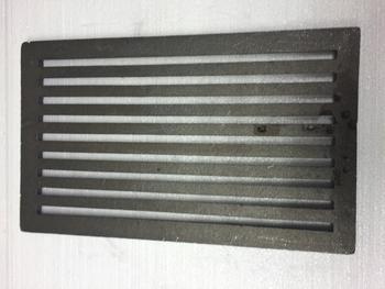 Litinový rošt 133 x 210 mm (5x8 palců) - 2