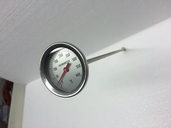 Teploměr do udírny, délka: 300 mm - 2