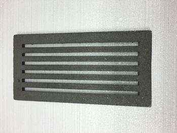 Litinový rošt 210 x 315 mm (8x12 palců) - 2