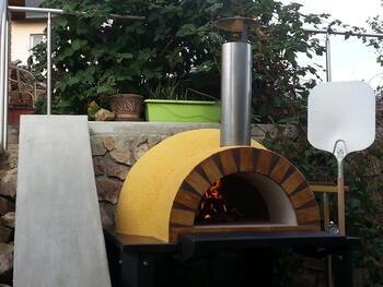 Pec na pečení chleba a pizzy IGNIS PERFECTA DONE - 2