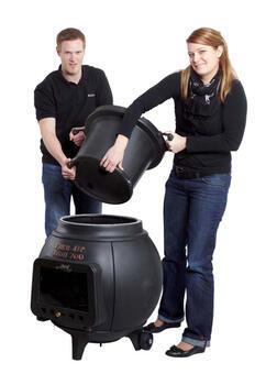 LEDA Troll 700 - litinový (smaltovaný) krb/gril/udírna - 3