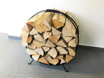Koš na dřevo Round - 3