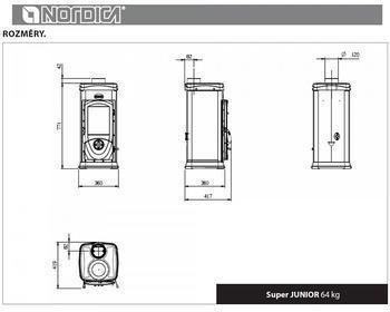 Nordica Super Junior 5 kW - 3