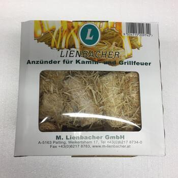 Lienbacher podpalovač z dřevité vlny -1 kg - 80 kusů - 3