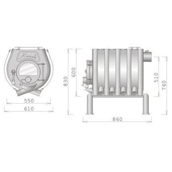 Kamna Kanuk 10 VP (10 kW)  - 4