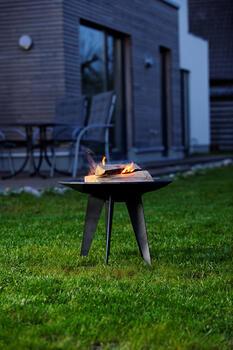 LEDA Outfire - litinové ohniště, dekorativní mísa - 5