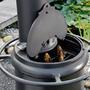 LEDA Troll 700 - litinový (smaltovaný) krb/gril/udírna - 6/7