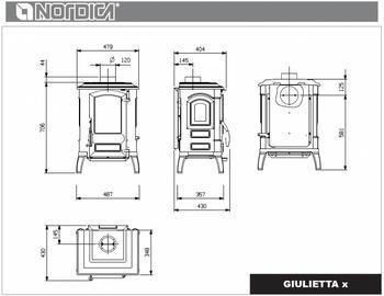 Nordica Giulietta X, 6,6 kW - 6
