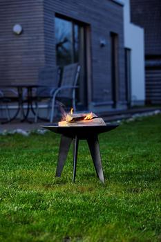 LEDA Outfire - litinové ohniště, dekorativní mísa - 6
