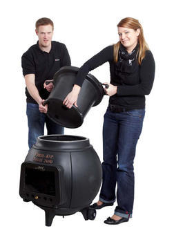 LEDA Troll 700 - litinový (smaltovaný) krb/gril/udírna - 7