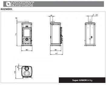 Nordica Super Junior 5 kW - 7
