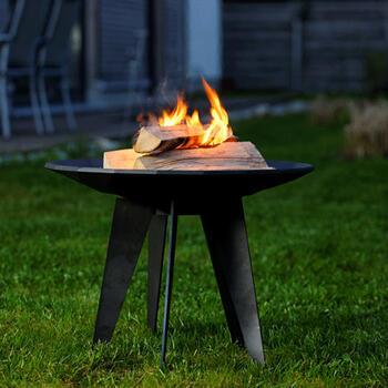 LEDA Outfire - litinové ohniště, dekorativní mísa - 7