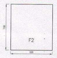 Podkladové sklo F2