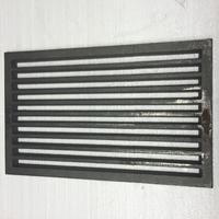 Litinový rošt 237 x 421 mm (9x16 palců)