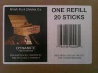 Lienbacher podpalovač DYNAMITE FIRE STARTERS - náplň 20 ks