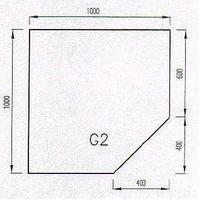 Podkladové sklo G2-10