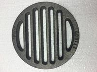Litinový rošt kulatý 145 mm