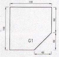 Podkladové sklo G1