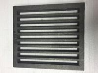 Litinový rošt 237 x 263 mm (9x10 palců)