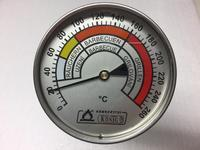 Teploměr do udírny, velký, 250 mm