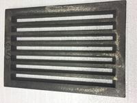 Litinový rošt 183 x 263 mm (7x10 palců)