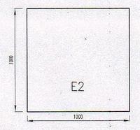 Podkladové sklo E2