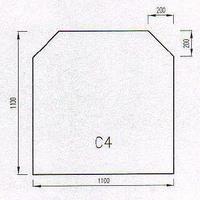 Podkladové sklo C4