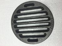 Litinový rošt kulatý masivní, pr. 158 mm