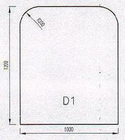 Podkladové sklo D1