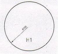 Podkladové sklo H1