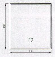 Podkladové sklo F3F