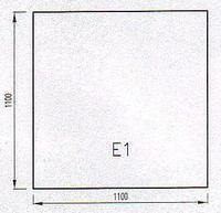 Podkladové sklo E1