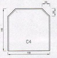 Podkladové sklo C4F