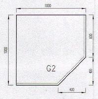 Podkladové sklo G2F